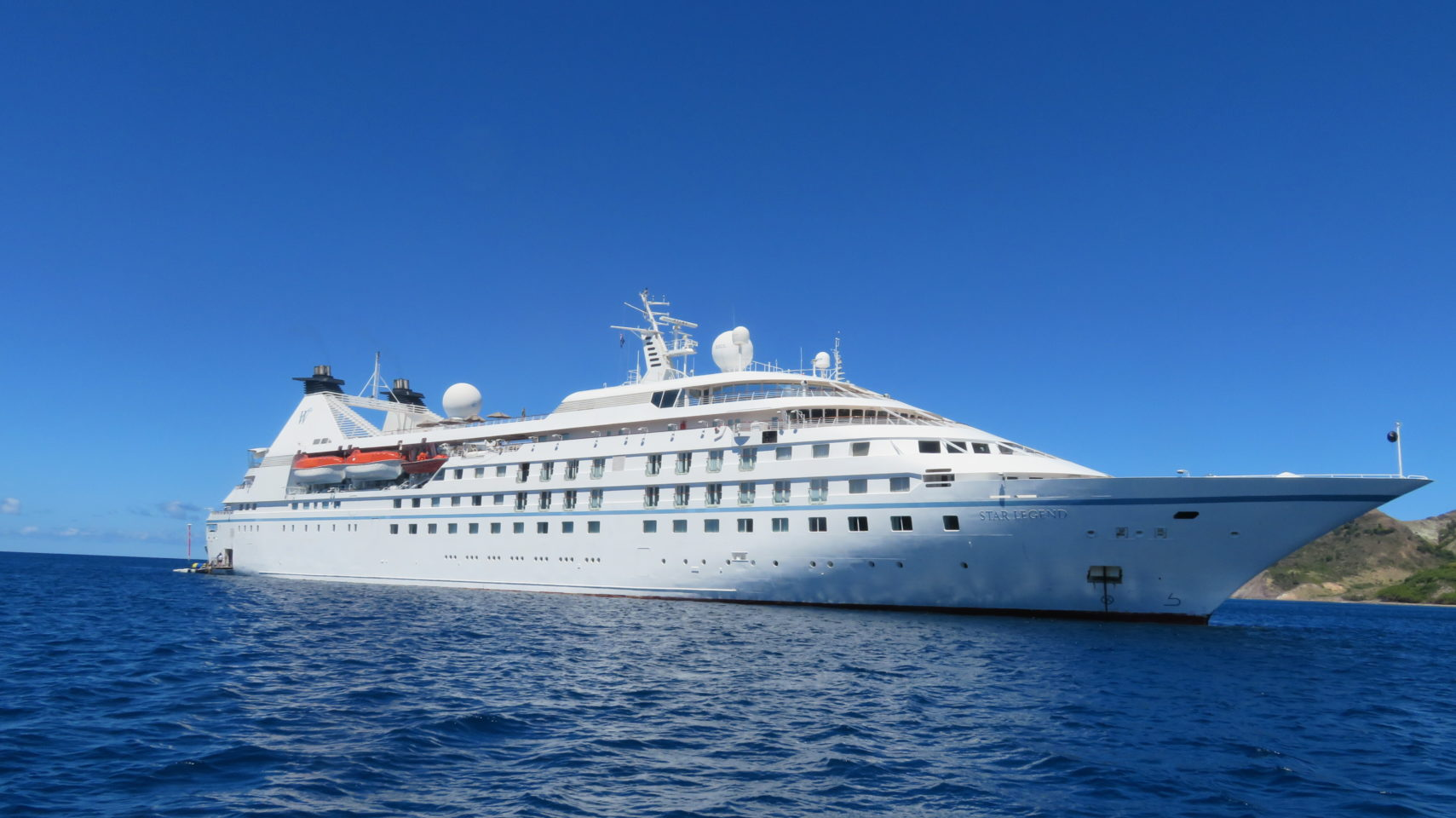 Windstar Cruises ~ Star Legend in the Caribbean