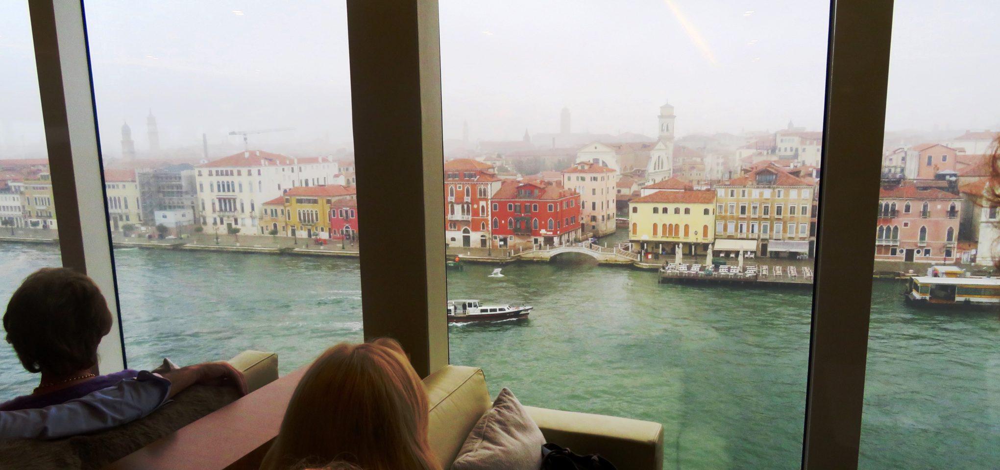 <em><strong>Viking Ocean Cruise Ships ~</strong> </em> Viking Star entering Venice Italy