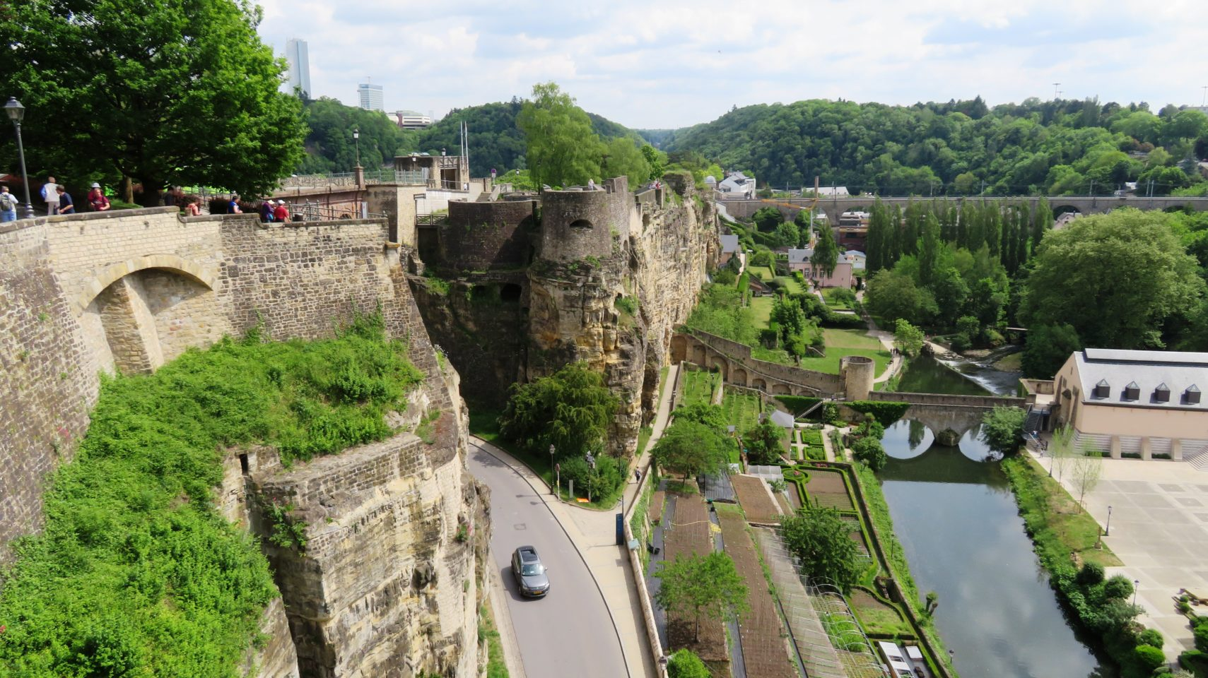 Casemates du Bock in Luxembourg City, Luxembourg