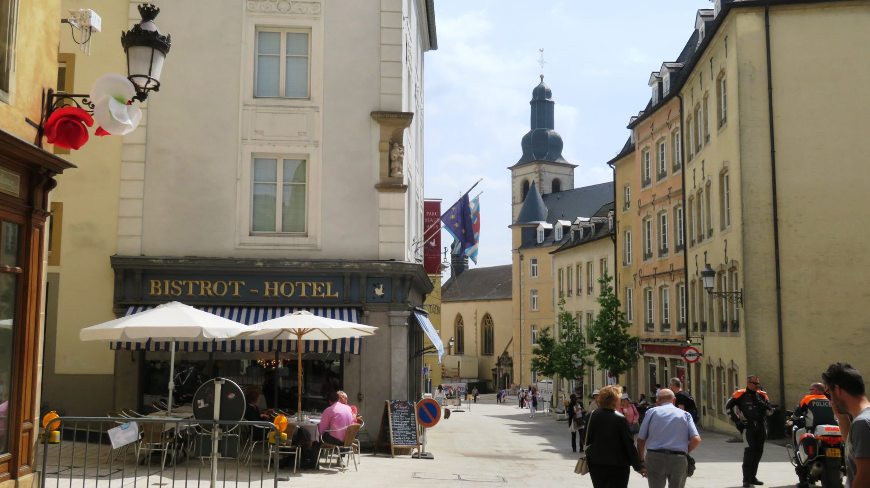 Strolling thru the Ville Haute (Upper Town) of Luxembourg City, Luxembourg