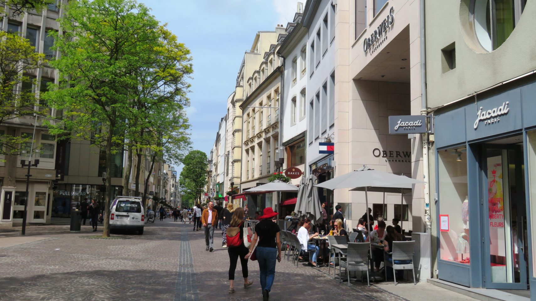 Grand Rue of Luxembourg City, Luxembourg
