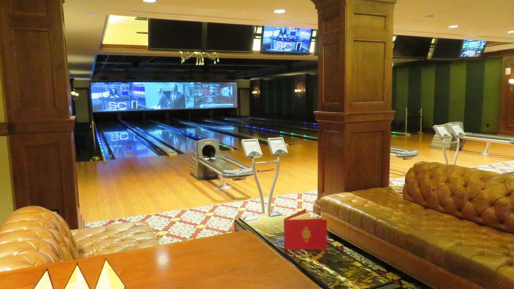 Bowling at The Broadmoor