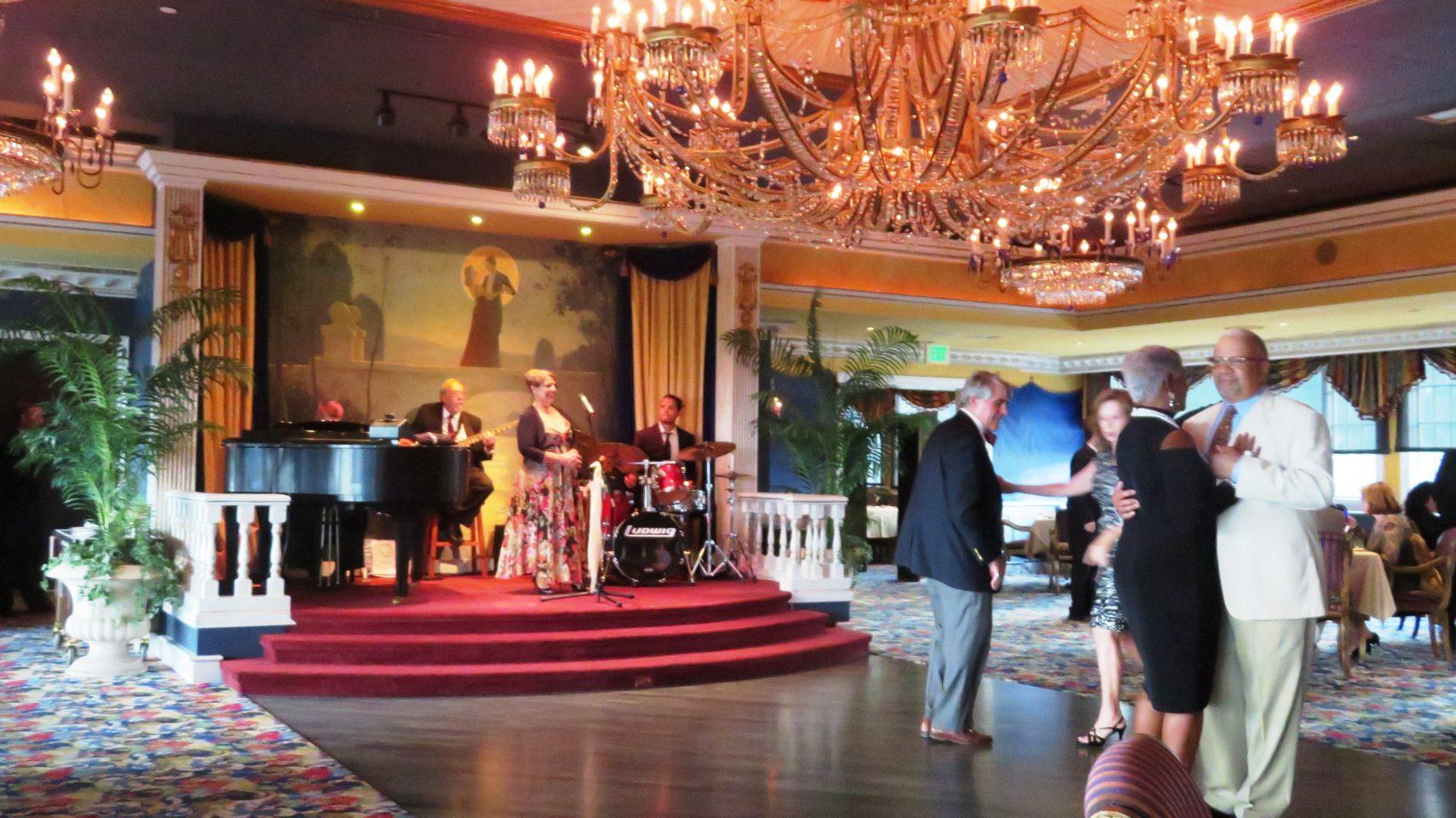 The <em><strong>Penrose Room</strong></em> restaurant at <em><strong>The Broadmoor</strong></em> Resort