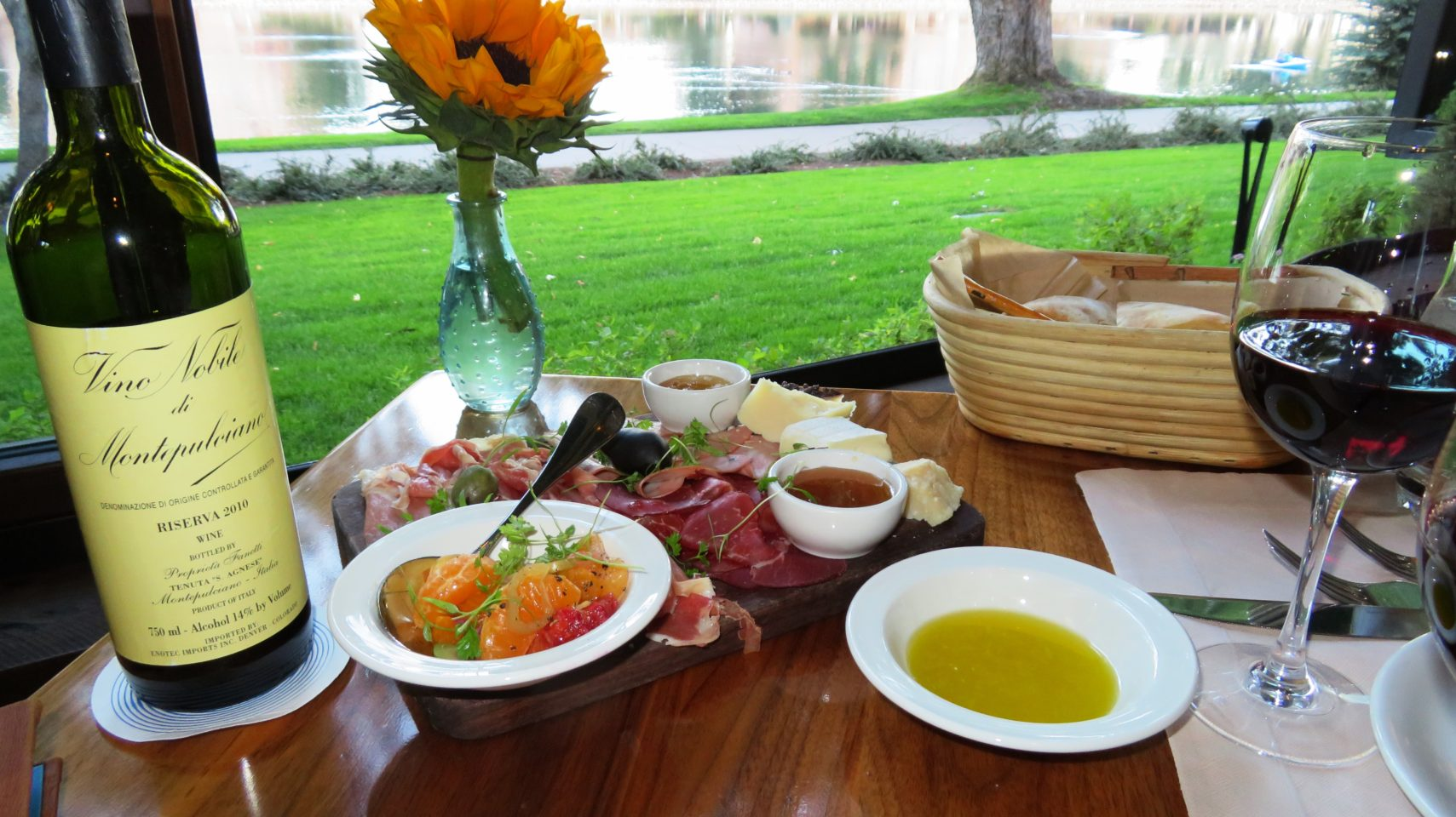 Culinary Excellence at The Broadmoor ~ Antipasto at the Ristorante del Lago