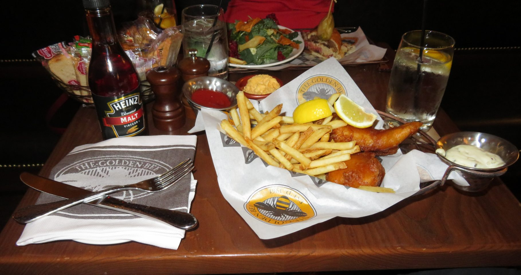 The Broadmoor Restaurants ~ Fish and Chips at The Golden Bee