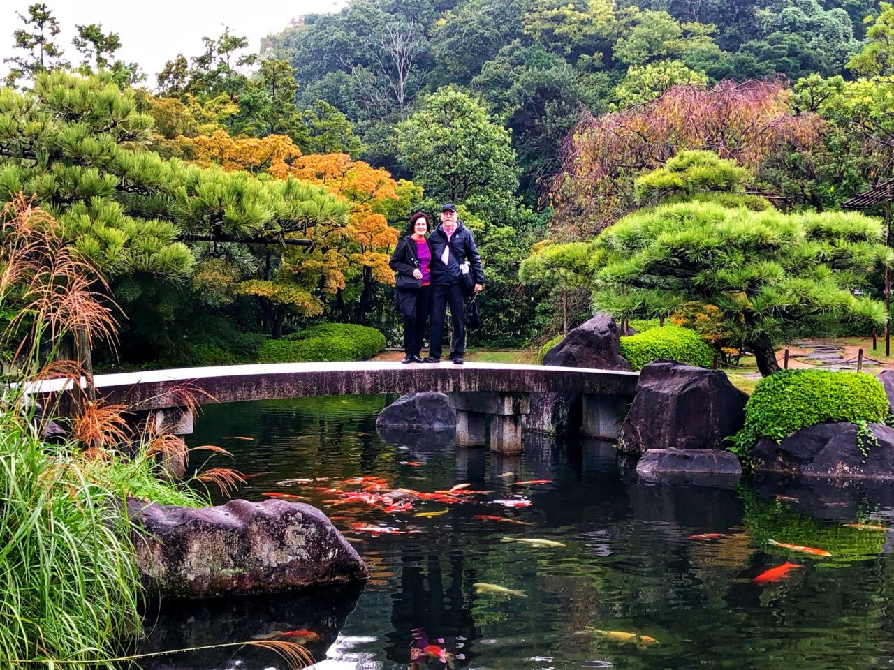 Japan Favorite Experiences ~ At Koko-en Gardens in Himeji Japan