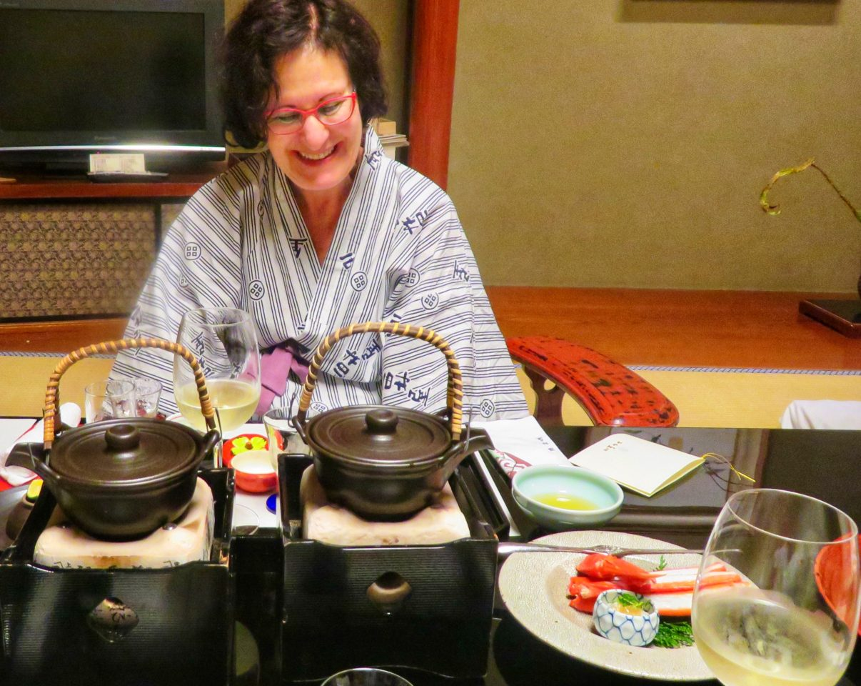 Japan Favorite Experiences ~ Enjoying a seasonal kaiseki gourmet dinner at Nishimuraya Honkan ryokan