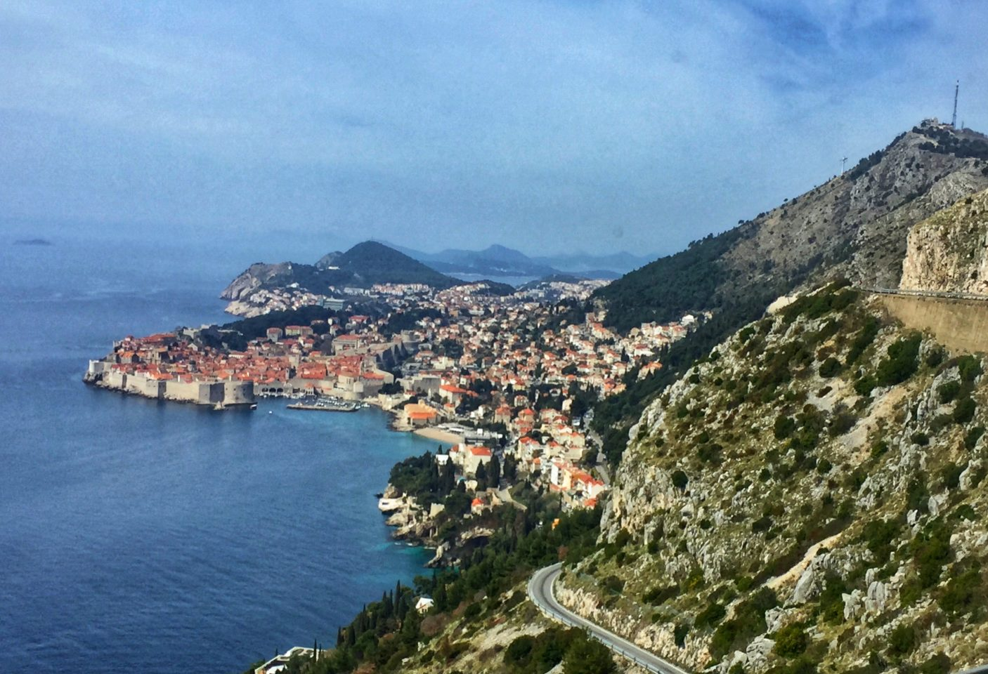 Dubrovnik on the Adriatic coast of Croatia
